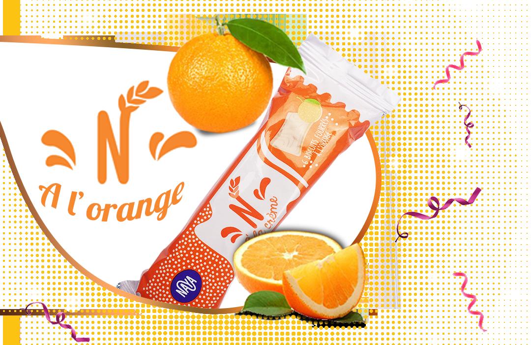 NAYA fourre Orange